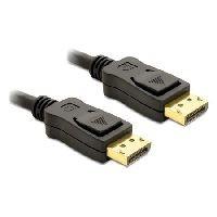 Delock 82424 DeLOCK DisplayPort-Kabel, 20pol DisplayPort St./St., vergoldet, 3,0 m