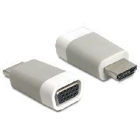 Delock 65472 DeLOCK Adapter HDMI-A Stecker an VGA Buchse