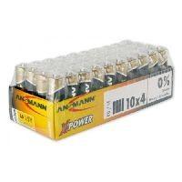 Ansmann 5015681 Ansmann X-Power Alkaline Batterie, Mignon (AA), VE: 10x 4 Stück