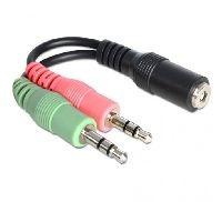 Delock 65459 DeLOCK Audio Adapter Klinkenbuchse 3,5 mm an 2 x Klinkenstecker 3,5 mm