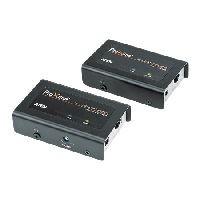 Aten CE100-AT-G ATEN KVM Extender über Cat.5e Verkabelung CE100, USB, mit Überspannungsschutz