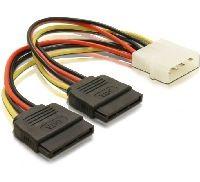 Delock 60102 DeLOCK 60102 - Kabel Power 1x5¼ > 2xSATA-HDD