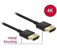 Delock 84773 DeLOCK Premium HDMI Kabel A Stecker > HDMI A Stecker, High Speed with Ethernet, 3D, 4K,