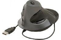 Dacomex 225121 Dacomex Ergonomische vertikale Maus, für Rechtshänder, USB, schwarz