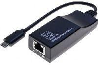 Dexlan 310729 DEXLAN Gigabit Netzwerkadapter, USB-Type-C(TM) (Thunderbolt 3)