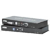 Aten CE600-AT-G ATEN DVI KVM Extender mit Audio CE600, Single Link