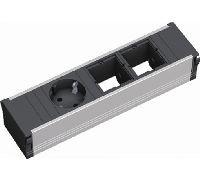 Bachmann 912002 Bachmann CONI Facility System Steckdoseneinheit 3-fach, 2 x Custom Module + 1 x Schu
