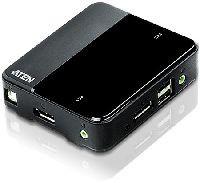 Aten CS782DP ATEN CS782DP 2-Port-USB-DisplayPort-KVM-Switch mit 4K-UHD-Unterstützung