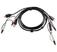 Aten 2L-7D02UH ATEN 2L-7D02UH, USB HDMI KVM-Kabel, 1.8m